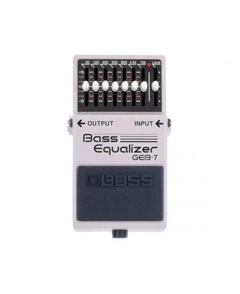 Pedal Boss GEB-7 Bass Equalizer