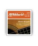 Juego Cuerdas Guitarra Acústica D´Addario EJ-10 .010.047