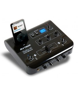 Mezclador iPod-USB DJ-Tech UMIX-3