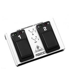 Pedal Switch Doble Behringer AB200