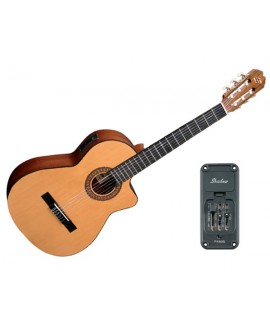 Guitarra Clásica Electrificada Admira Juanita EC