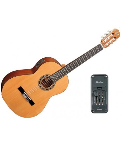 Guitarra Clásica Electrificada Admira Málaga E