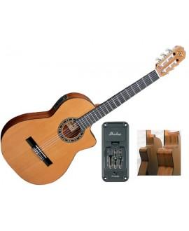 Guitarra Clásica Electrificada Admira Málaga ECT